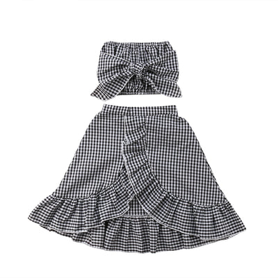 Checkered Trendy 2PC - The Childrens Firm