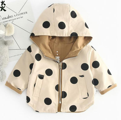 Polka Dot Reversible Windbreaker - The Childrens Firm