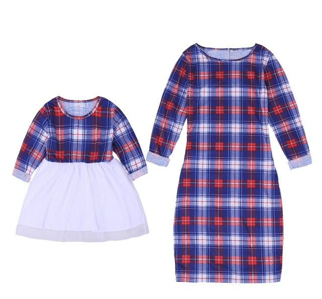 Mother Daughter Matching Clothes SetsT-shirt+Skirts - The Childrens Firm