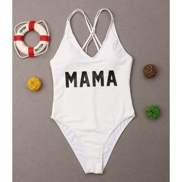 Got it from my mama Mother Daughter Swimsuit - The Childrens Firm
