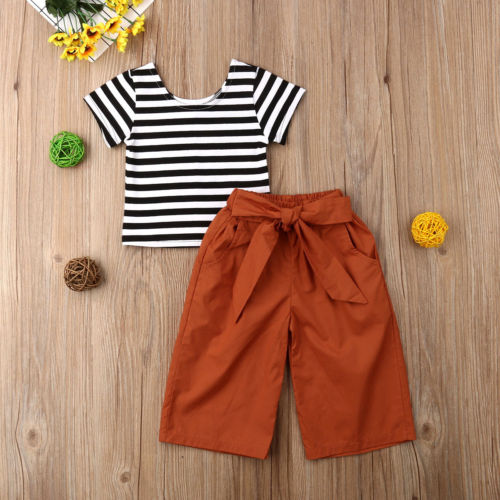Striped Camel Set - The Childrens Firm