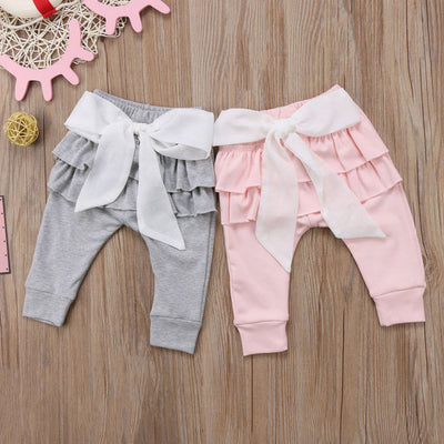 Baby Pants Princess Big Bow - The Childrens Firm