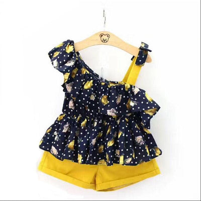Retro Floral 2 Piece Set - The Childrens Firm