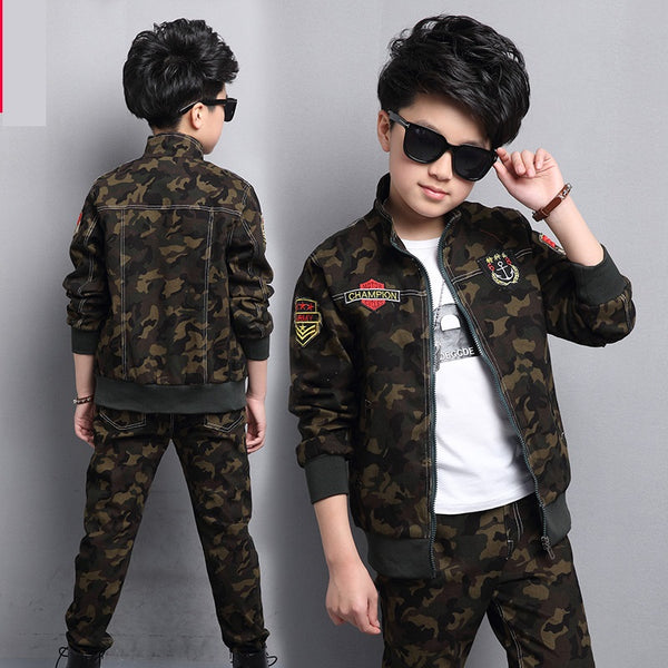Camo Jacket &Pants Set - The Childrens Firm