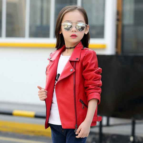 Rock Star Kiddo Faux Leather Jacket - The Childrens Firm