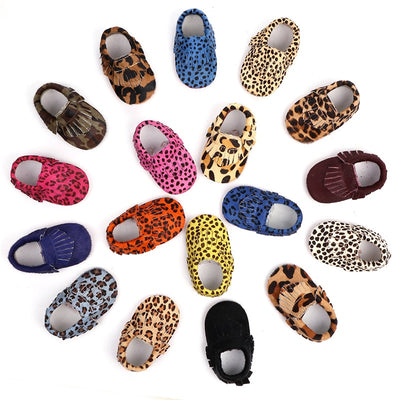 Trendy Printed Moccasins - The Childrens Firm