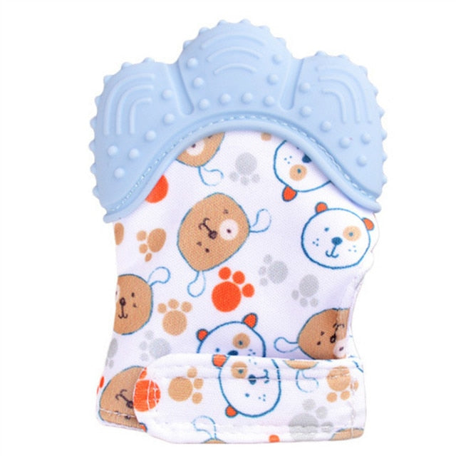 Baby Silicone Teething Mitten Gloves - The Childrens Firm