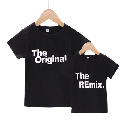 The Original/Remix Family T-shirts - The Childrens Firm
