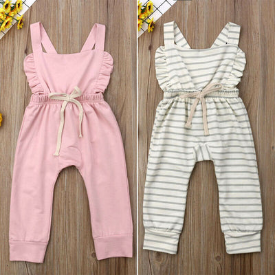 Ruffly Jump Suit - The Childrens Firm