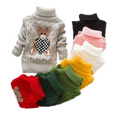 Baby Bear Knitted Sweater - The Childrens Firm
