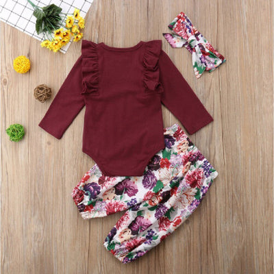 Floral Bliss Babies 2PCS Set - The Childrens Firm
