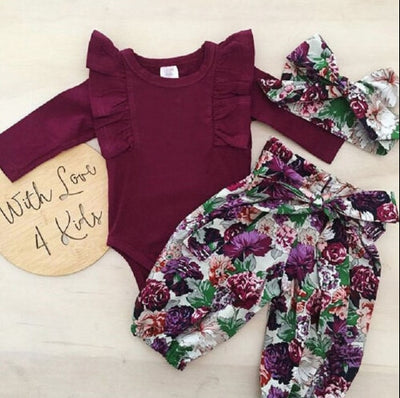 Blissful Floral Set - The Childrens Firm