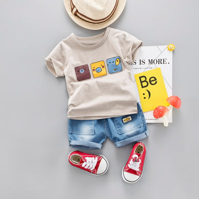 Birdy pal outfit set - The Childrens Firm