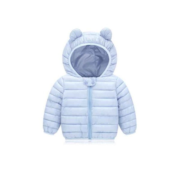 New Baby Winter Coats Down Cotton  Coat  Jacket kids Baby Clothes Hooded infant  Down Jacket For Boys And Girls - The Childrens Firm