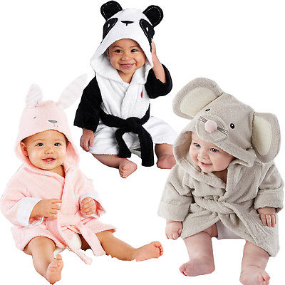 Baby Animal Night Robes - The Childrens Firm