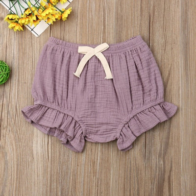 Ruffle Bow Bloomers - The Childrens Firm