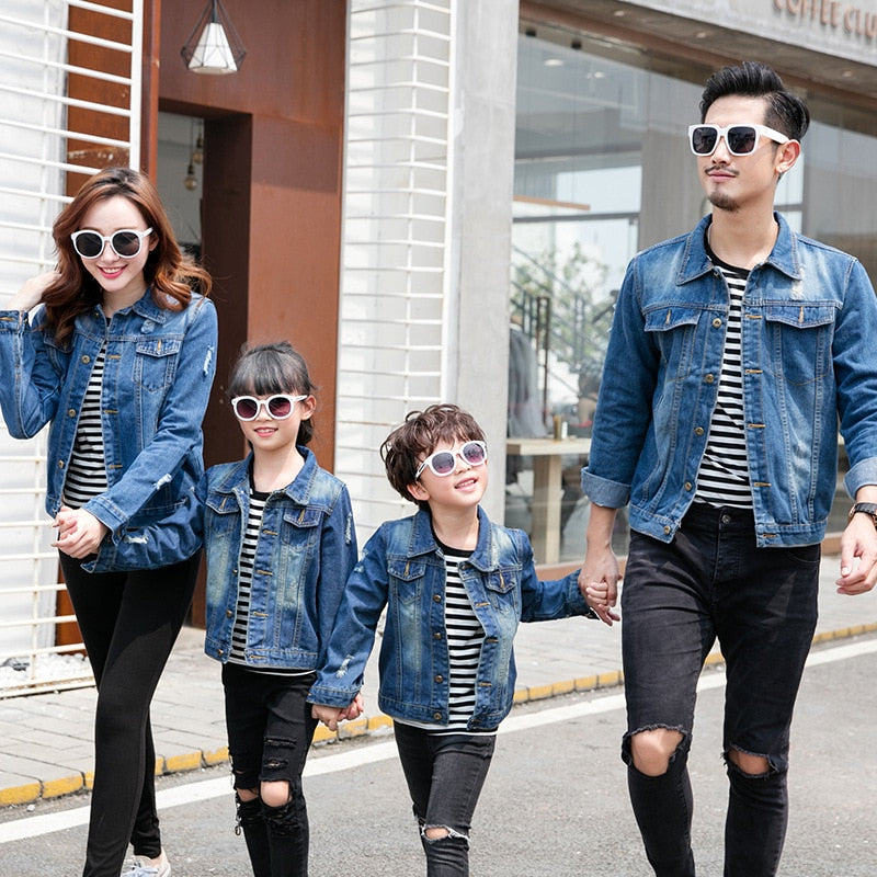 Matching Family Denim Jacket - The Childrens Firm