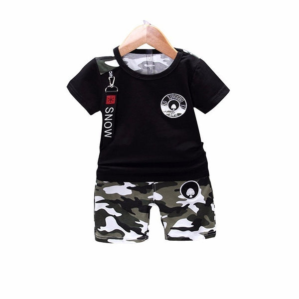 Camo Kidd Outfit Set - The Childrens Firm