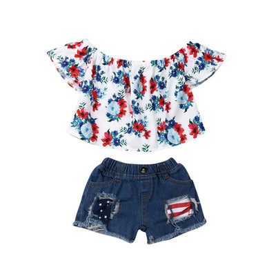 Fourth of July Shorts Set - The Childrens Firm
