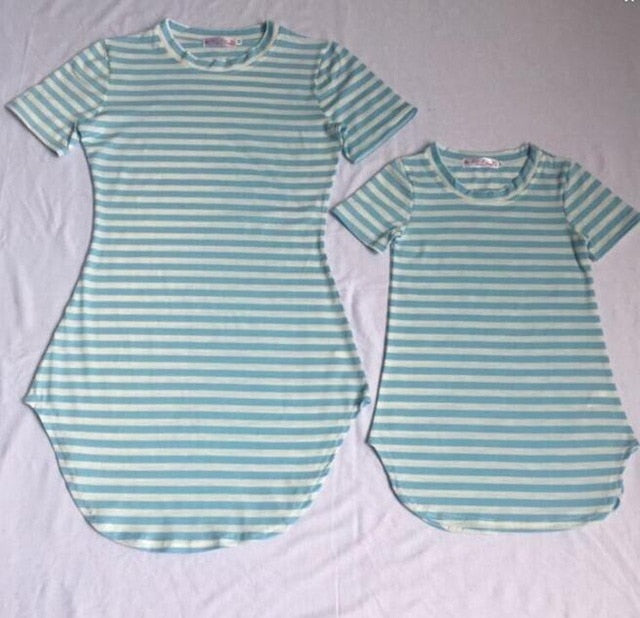 Mother Daughter Cotton Matching Dresses