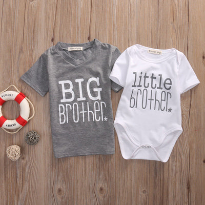 Big Bro Lil Bro Tshirts - The Childrens Firm