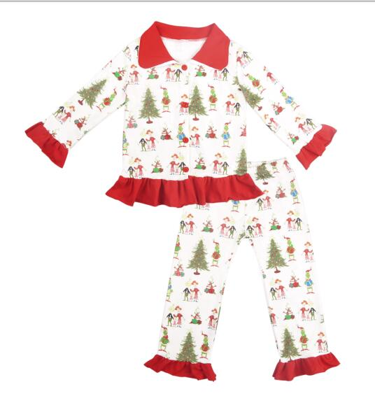 Christmas Kid Pajama Set - The Childrens Firm