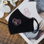 [CLEARANCE SALE] Faith and Hope Breast Cancer Awareness - Hand Embroidery Linen Mask