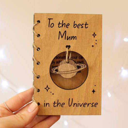 Personalized Card For Mother's Day, Gift For Mom