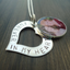"Personalized Memory Photo ""Forever in my heart"" Necklace"