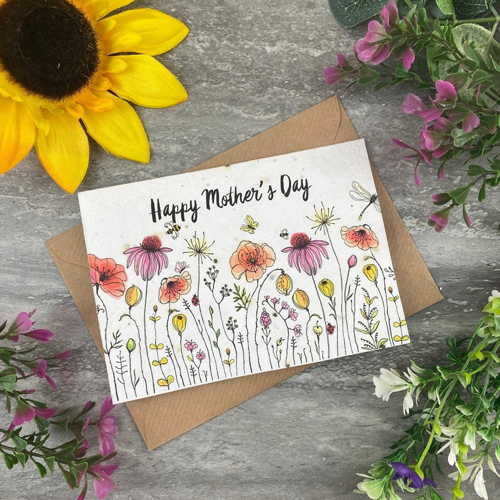 Plantable Seed - Mother's Day Card