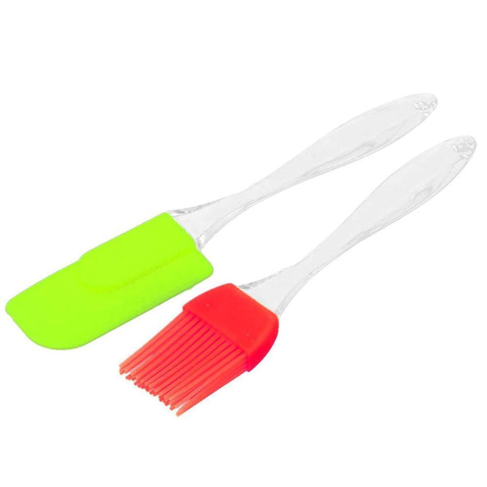 136 Spatula and Pastry Brush for Cake Mixer
