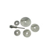 408 -6pcs Metal HSS Circular Saw Blade Set Cutting Discs for Rotary Tool