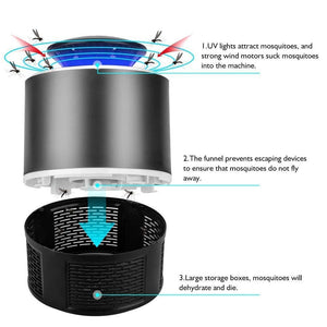 252 Electronic Led Mosquito Killer Lamps Super Trap Mosquito Killer Machine