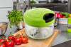 753_Manual Food Chopper, Compact & Powerful Hand Held Vegetable Chopper/Blender