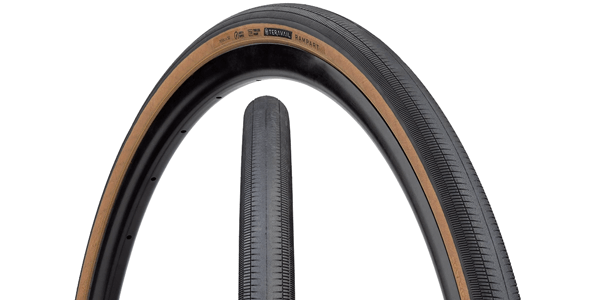 Teravail Rampart Tire - Tread and sidewall with hotpatch dual view