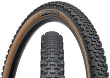Load image into Gallery viewer, Top half of Honcho Tire, Front & Side, Tan Sidewall, 29 x 2.4 Widt