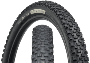 Top half of Honcho Tire, Front & Side, Black Sidewall, 27.5 x 2.6 Width