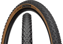 Load image into Gallery viewer, Top half of Rutland Tire, Front & Side, Tan Sidewall, 650 x 47 Width
