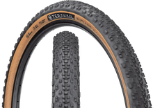 Load image into Gallery viewer, Top half of Rutland Tire, Front & Side, Tan Sidewall, 27.5 x 2.1 Width