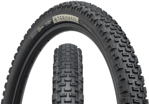 Top half of Honcho Tire, Front & Side, Black Sidewall, 27.5 x 2.4 Width