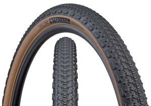 Top half of Sparwood Tire, Front & Side, Tan Sidewall, 29 x 2.2 Width