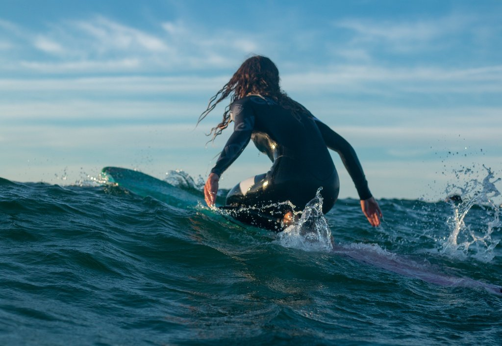 Surfing is all about harmony