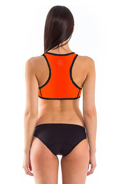 Signature Racerback Crop Top