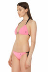 Signature Triangle Bikini Top with Adjustable Cup