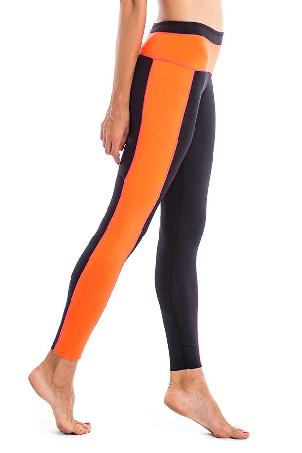 Vibrant Stripes 1 MM Leggings