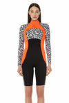 Signature 2 MM Long Sleeve Back Zip GBS Springsuit