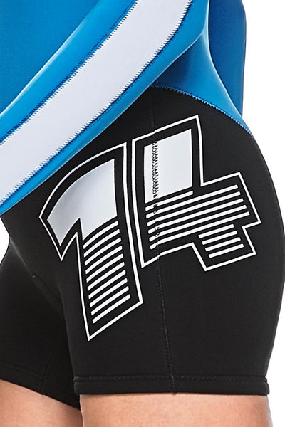 FlashBack 74 2 MM Front Zip GBS Springsuit