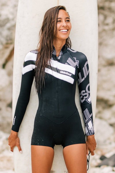 Essential 2 MM Long Sleeve Front Zip GBS Springsuit. OUR.BEST.OFFER