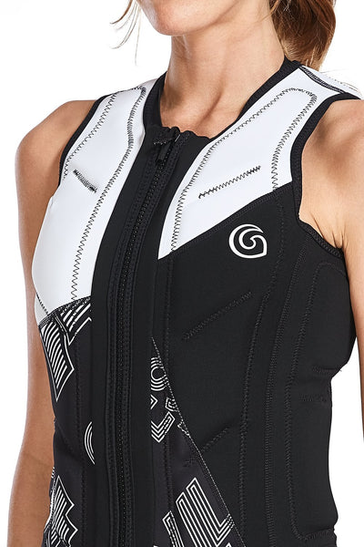 Essential Reversible Assymetric Comp Vest