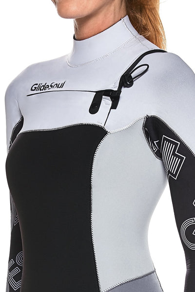 FlashBack 74 5/4  MM Chest Zip GBS Wetsuit